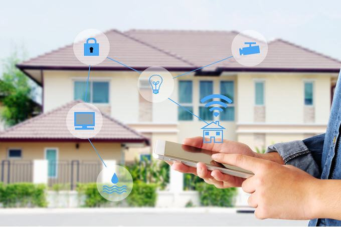 bProtect your home with a security system